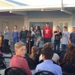 Teen Group Singing